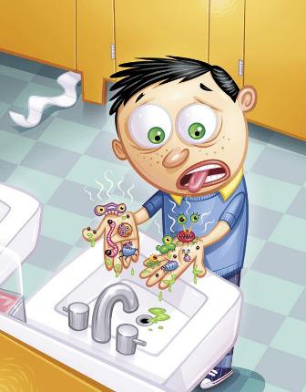 Невредные советы по пищевой безопасности в стихах и картинках